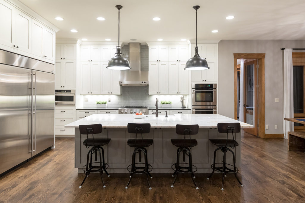 new traditional kitchen